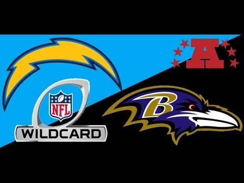 L.A. Chargers Vs Baltimore Ravens WildCard Recap