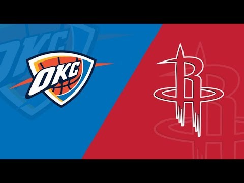 NBA STREAM : OKC Thunder Vs Houston Rockets  | Live Reactions & Play By Play