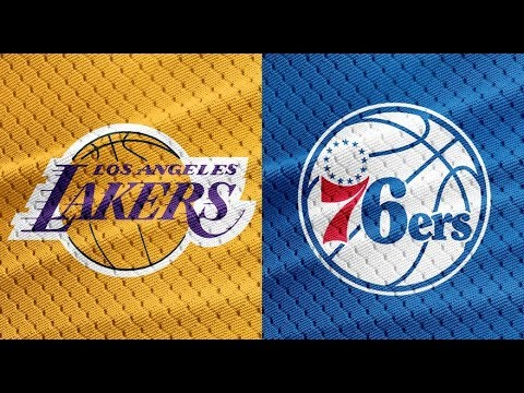 NBA STREAM : Los Angeles Lakers Vs Philadelphia 76ers  | Live Reactions & Play By Play