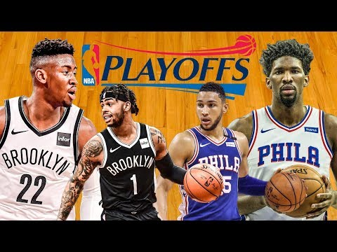 NBA PLAYOFFS : Brooklyn Nets Vs Philadelphia 76ers | Live Play By Play & Reactions