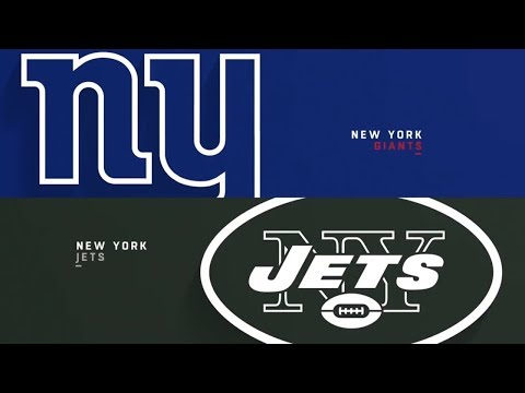 NFL PRESEASON : New York Jets Vs New York Giants| Live Play By Play & Reactions