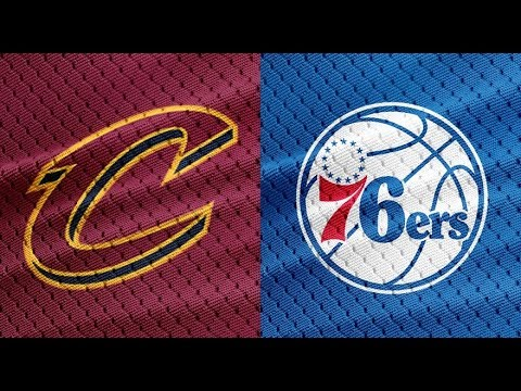 NBA STREAM : Cleveland Cavaliers Vs Philadelphia 76ers| Live Play By Play & Reactions
