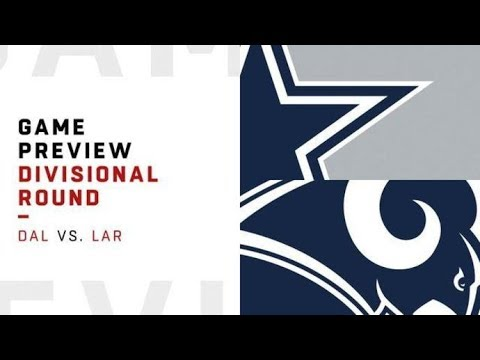 Dallas Cowboys Vs Los Angeles Rams Divisional Playoff Predictions 2019