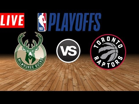 NBA LIVE STREAM : Toronto Raptors Vs Milwaukee Bucks | Live Play By Play & Reactions (Game 5)