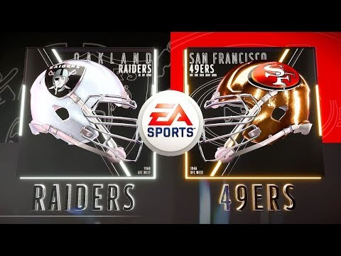 NFL MADDEN 19: OAKLAND RAIDERS  Vs SAN FRANCISOC 49ERS