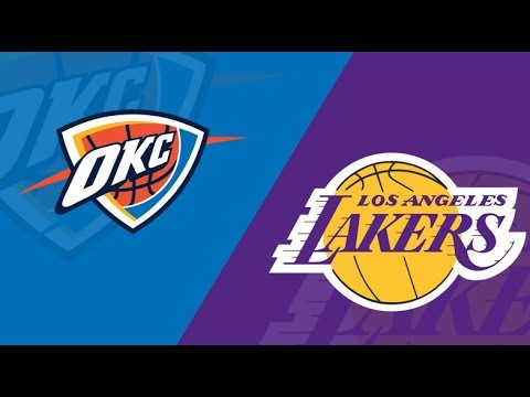 Los Angeles Lakers Vs Oklahoma City Thunder | Live Reaction