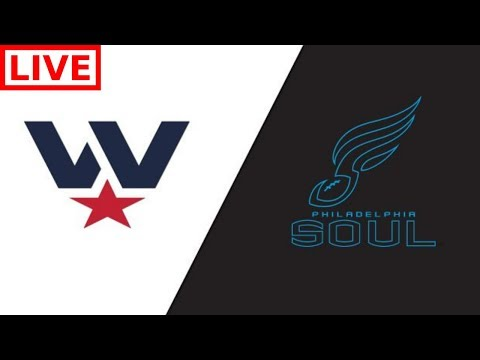 AFL STREAM : Washington Valor Vs Philadelphia Soul  AFL Playoffs Live Play By Play & Reactions