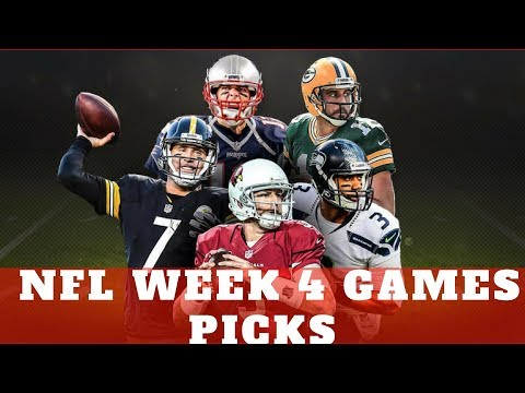 NFL WEEK 4 GAME PICKS