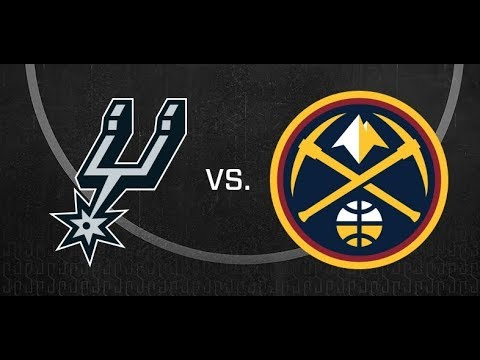 NBA PLAYOFFS : San Antonio Spurs  Vs Denver Nuggets | Live Play By Play & Reactions