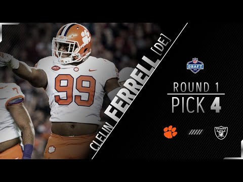 Oakland Raiders Select Clelin Ferrell 1st Rd Pick Reaction