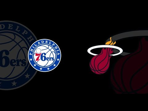 NBA STREAM : Philadelphia 76ers Vs Miami Heat  | Live Play By Play Reactions