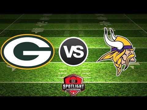 Green Bay Packs Vs Minnesota Vikings  Live Play-By-Play Reactions