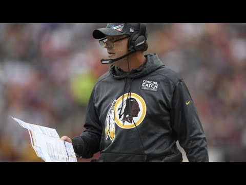 BREAKING NEWS: Jay Gruden Is Fire As The Redskins Head Coach My Thoughts