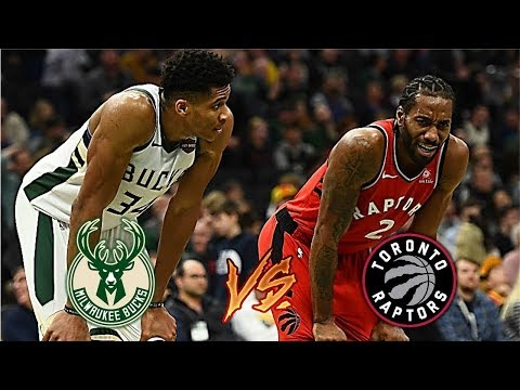 NBA LIVE STREAM : Toronto Raptors Vs Milwaukee Bucks| Live Play By Play & Reactions