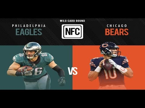 Philadelphia Eagles Vs Chicago Bears Wildcard Game Recap