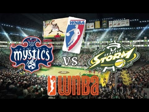 WNBA STREAM: Seattle Storm Vs Washington Mystics Live Play By Play Reactions