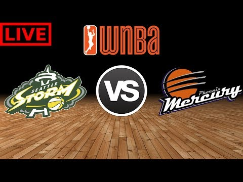 WNBA STREAM: Seattle Storm Vs Phoenix Mercury Live Play By Play &  Reactions