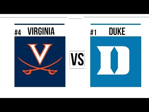 NCAA STREAM : Duke Blue Devils Vs Virginia Cavaliers  | Live Reactions & Play By Play