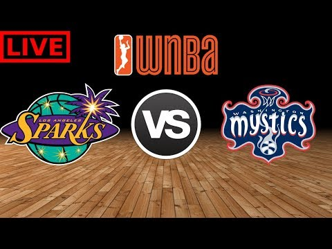 WNBA STREAM: Los Angeles Sparks Vs Washington Mystics | Live Play By Play & Reactions