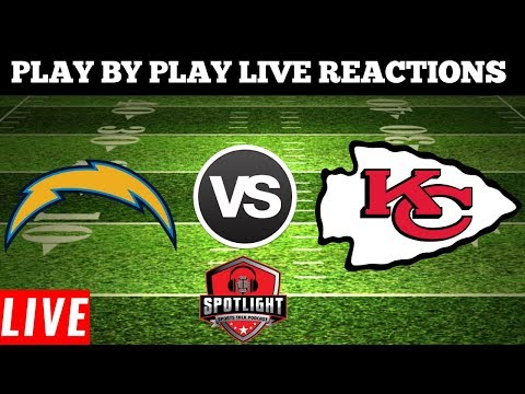 Los Angeles Chargers Vs Kansas City Chiefs | Live Play By Play Reactions