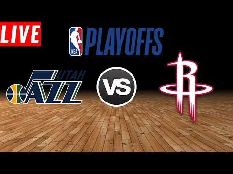 NBA PLAYOFFS : Houston Rockets Vs Utah Jazz | Live Play by Play & Reactions