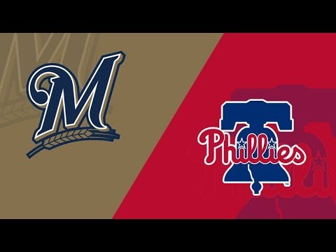MLB LIVE STREAM:  Philadelphia Phillies Vs Milwaukee Brewers | Live Play By Play & Reactions