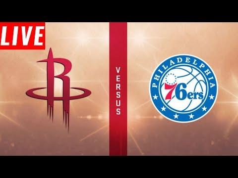 Houston Rockets Vs Philadelphia 76ers | Live Reaction