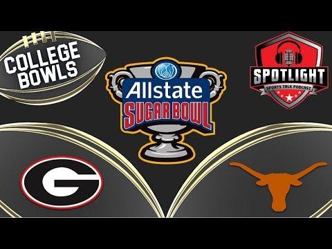 AllState Sugar Bowl | #15 Texas LongHorns VS #5 Georgia Bulldogs | Live Reaction