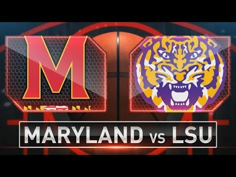 NCAA STREAM: #6 Maryland Terps  Vs #3 LSU Tigers  | Live Play By Play & Live Reactions