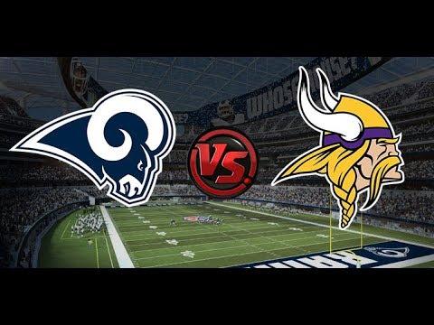 Minnesota Vikings Vs Los Angeles Rams Live Post Game Recap!