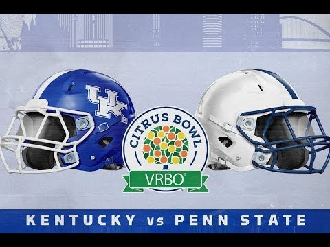 The Citrus Bowl | #14 Kentucky Vs #12 Penn State 2018 Predictions
