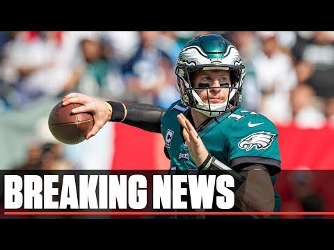Eagles QB Carson Wentz Gets 4 Year Extension With 128 MIL