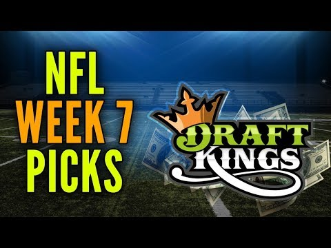 NFL WEEK 7 DRAFTKINGS GPP PICKS