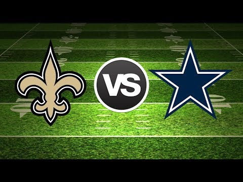 New Orleans Saints Vs Dallas Cowboys Live Play By Play Reactions