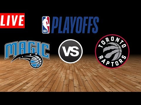 NBA PLAYOFFS : Toronto Raptors Vs Orlando Magic  | Live Play by Play & Reactions