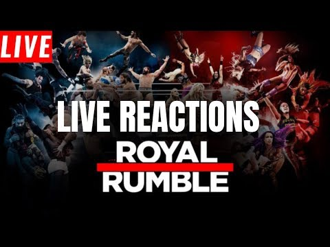 WWE Royal Rumble 2019 Live Stream | Live Reactions