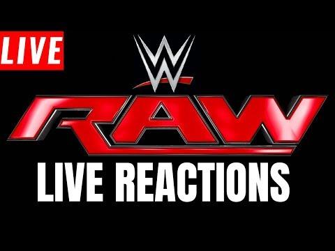 WWE Monday Night Raw Live Stream | Live Reactions