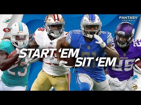 Top 5 RB'S To Start In Week 5 Fantasy Football