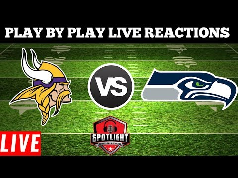 Minnesota Vikings Vs Seattle Seahawks | Live Play By Play Reactions
