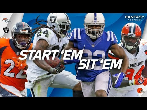 Top 5 RB's To Start In NFL Week 6 Fantasy Lineups