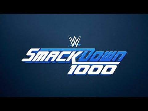 WWE SmackDown Live 1000th Show Live Recations!!
