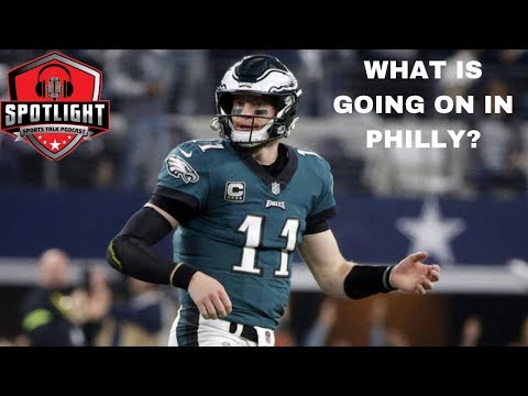 BREAKING NEWS| Carson Wentz Expected Not To Play The Rest Of The 2018 Season!!!!!