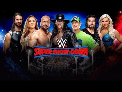 WWE SUPER SHOWDOWN PREDICTIONS 2018