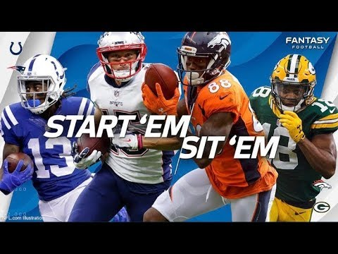 Top 5 WR'S To Start In NFL Week 6 Fantasy Lineups