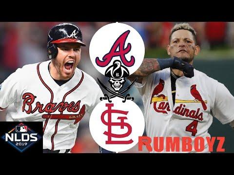 NLDS  Game 5 St. Louis Cardinals vs Atlanta Braves