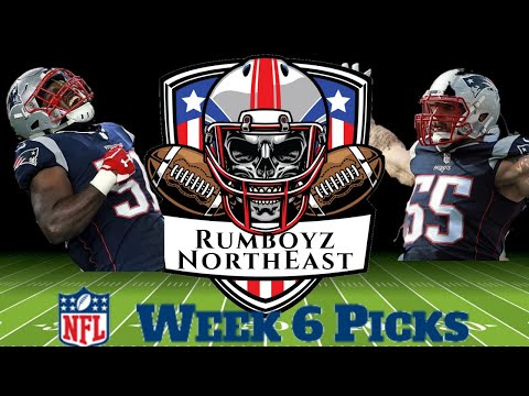 NFL Week 6 Picks With Special Guests Goose76 Sports And Nick Howard