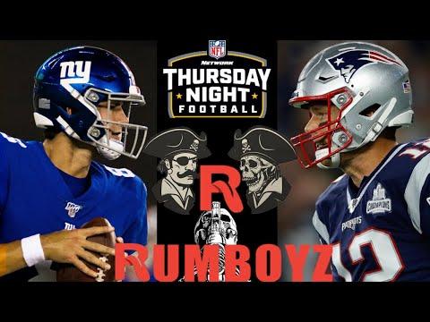 NFL Thursday Night Football New York Giants vs New England Patriots #NFL #NFL100