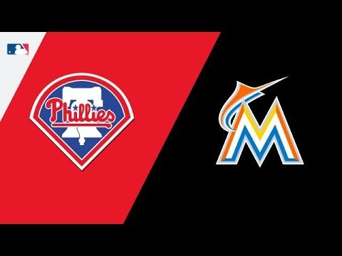 MLB STREAM: Philadelphia Phillies Vs Miami Marlins | Live Play By Play & Reactions