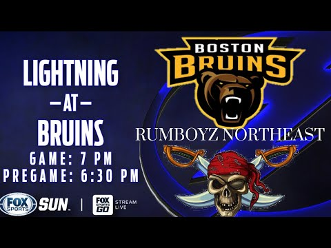 Boston Bruins vs Tampa Bay Lightning Live Stream Play By Play & Reaction