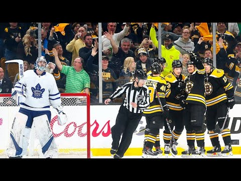 Boston Bruins vs Toronto Maple Leafs Live Stream Play By Play And Reaction